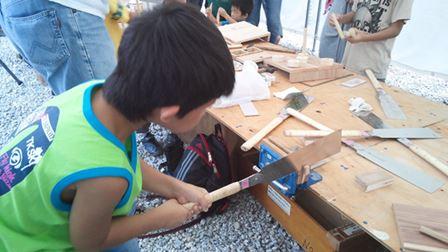 「夏休み木工教室開催のお知らせ」