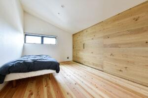 暮らしをデザインする家_主寝室