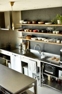 暮らしをデザインする家_キッチン