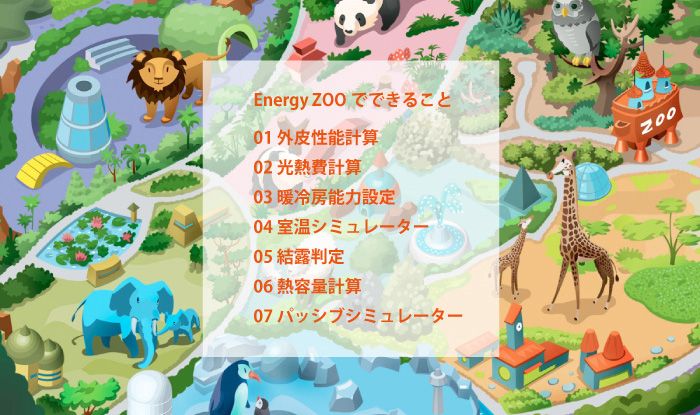 Energy Zooでできること