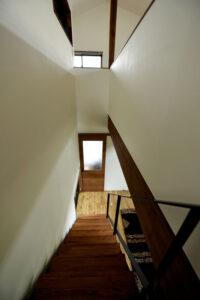 S様邸階段