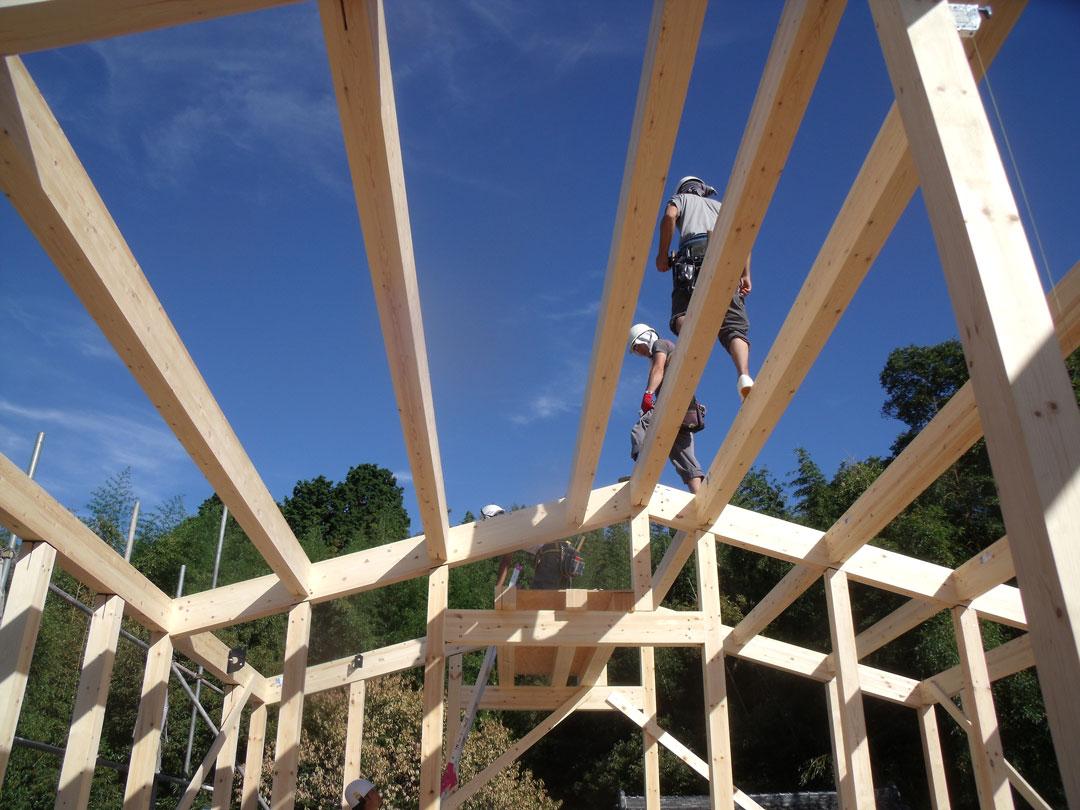 「心地よく繋がる家」構造