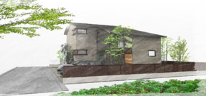 「朱雀に佇む30畳LDKの家」構造見学会